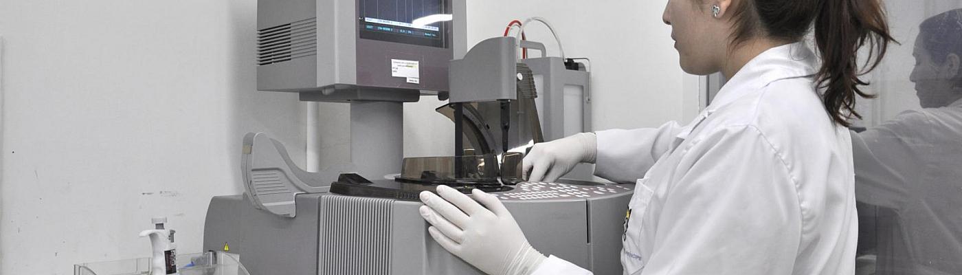 Centrifuga de laboratorio