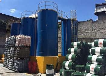 Centrífuga para óleo lubrificante